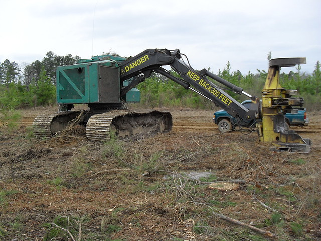 1999 Timberjack 608S Track Fellerbuncher with 18quot Koehring Sawhead for Sale at Forestry First by Forestry First