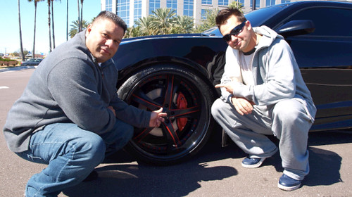Will Castro of Unique Autosports delivers another Unique Edition vehicle, replete with Pirelli tires
