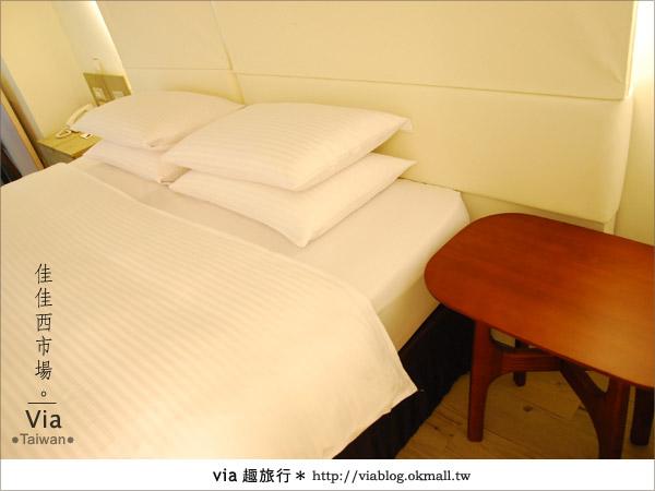 【台南住宿】佳佳西市場旅店~充滿特色的風格旅店!26