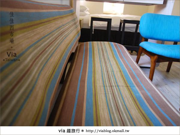 【台南住宿】佳佳西市場旅店~充滿特色的風格旅店!21