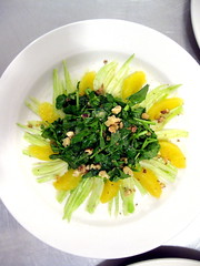 Salad with orange and fennel