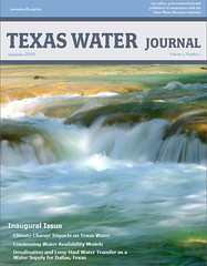 Texas Water Journal launches inaugural issue