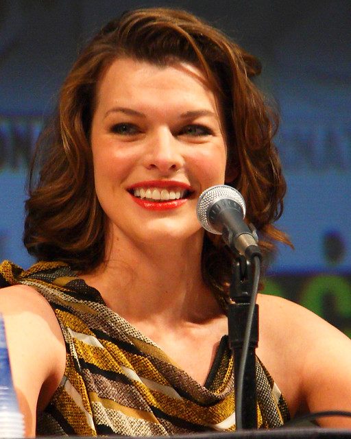 milla jovovich by trekkiebeth