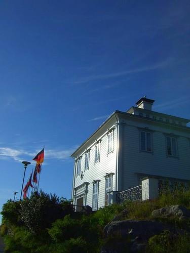 Bergen funicular cafe