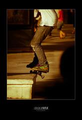 Skater 3 (Alvaro Nistal) Tags: espaa sevilla spain andalucia skate skateboard skater trick alvaro grind patin truco patinaje patinador nistal alvaretion