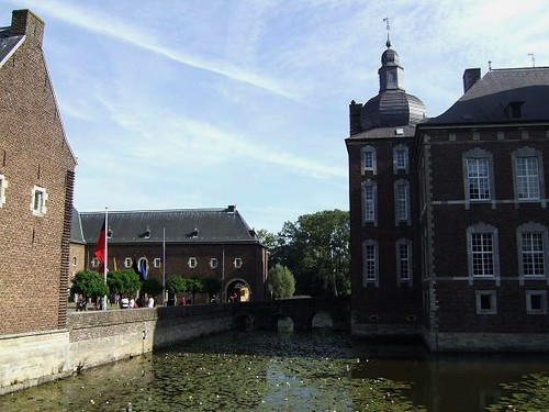 view of different parts Hoensbroek Castle
