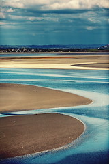 Mont Saint Michel bay (The Other Martin Tenbones) Tags: ocean sea sky france nature water clouds canon 135mm 5dmii