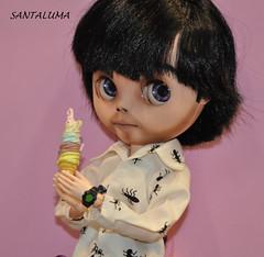 Agora um sorvete vai bem, diz Mike!!