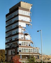 Office space (Lady Wulfrun) Tags: tarmac demolish demolition carillion wolves officespace wolverhampton ringroad peelhouse pealhouse
