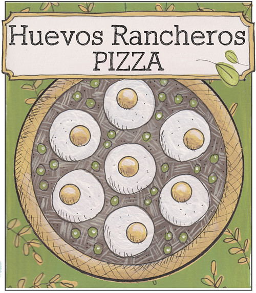 Huevos Rancheros Pizza