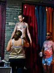 Body painting (ellenm1) Tags: city urban music club michigan ypsilanti clubs taproom nightlife hopping octoberbabies