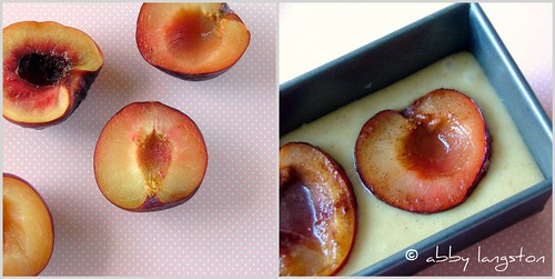 A Tale of Two Plum Cakes