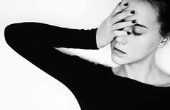 (Melania Brescia) Tags: portrait bw girl face hand bn melania brescia