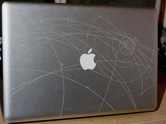 Laser Etching My Macbook Pro With Science Russ Garrett