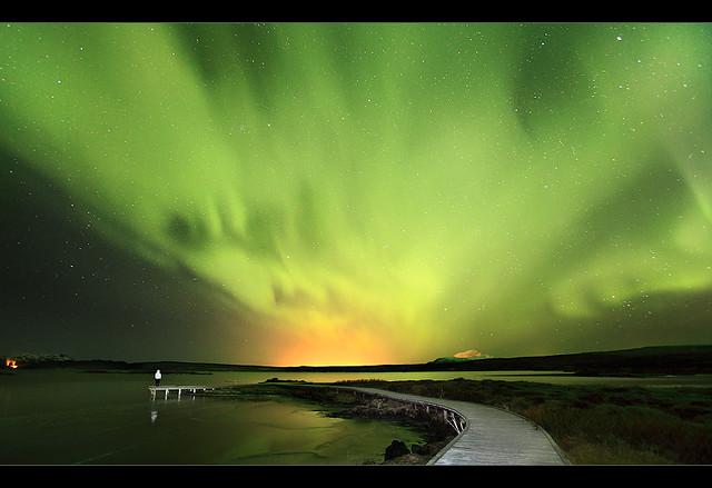 Aurora Explosion - Þingvellir, Iceland