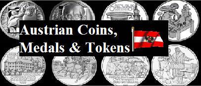 Austrian Coins medals Tokens logo