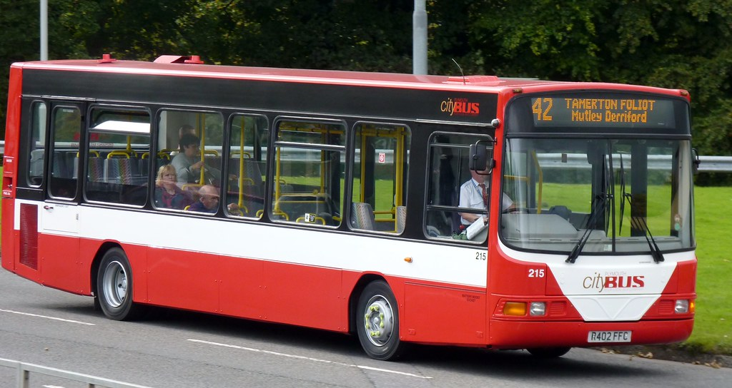 Plymouth Citybus 215 R402FFC