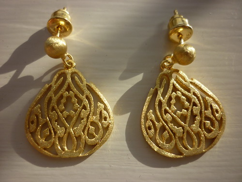 Istanbul Jewellery Hersey Askatan gold earrings Liberty London Girl