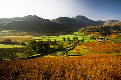 little langdale valley (Dennis_F) Tags: street uk autumn trees red england house lake mountains green rot fall colors zeiss landscape little unitedkingdom district sony united herbst wide lakedistrict wiesen kingdom hills berge valley greens grn fullframe dslr landschaft bume ultra ssm tal thelakes langdale 1635 uwa hgel thelakedistrict weitwinkel ultrawideangle uww herbstlich a850 163528 sonyalpha sonydslr vollformat zeiss1635 sal1635z cz1635 sony1635 dslra850 sonya850 sonyalpha850 alpha850 sonycz1635