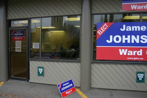 James Johnson Campaign Office