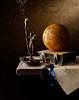 St Christopher and Atlas - Kevin Best (kevsyd) Tags: atlas candlestick stchristopher kevinbest dutchstilllife