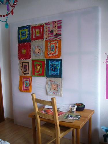 quilt design wall.