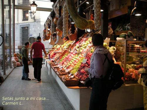visitando mercados