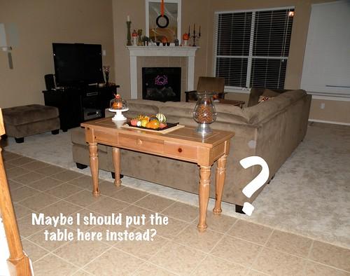 the sofa table turned sideboard house of hepworths. Black Bedroom Furniture Sets. Home Design Ideas