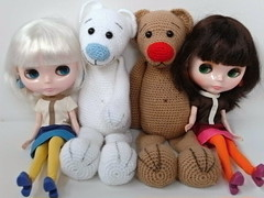 Vivi, Coco and Teddies