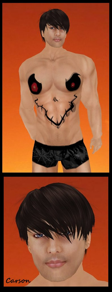 DB Ghost Belly Skin PH Adam n Eve Clothes Silky Halloween Boxers $10L