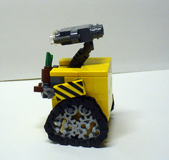 Walle 5 (Model Gal) Tags: lego walle creationsforcharity2010