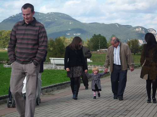 A walk with the family