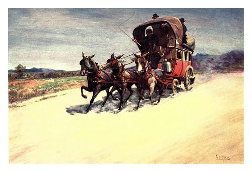 022- Una diligencia-Corsica-1909-Edwin A. Norbury