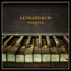 Music That Once Was (o0xerog0o) Tags: old ohio dusty abandoned keys mt ben piano ivory dirty mount company co oh benjamin leonard lundy pleasant