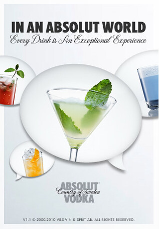 DrinkSpiration ABSOLUT VODKA