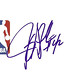 Jerry Stackhouse autographed 4x6