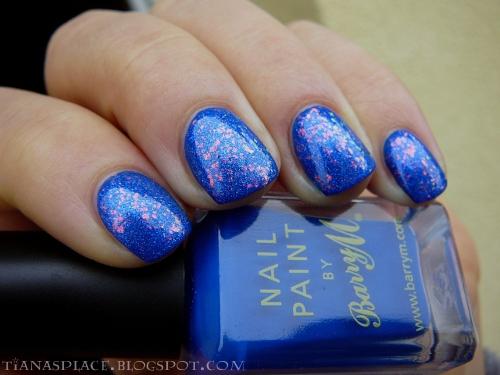 Barry M - Cobalt Blue + Nfu-OH 53 #2
