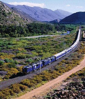 Blue Train, Africa