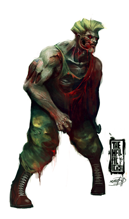 street fighter zombie 8