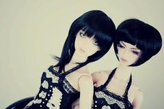 sisters (aEthEr hEad) Tags: angel ball asian ma doll super bjd soom abjd onyx gem mecha aesthetics jointed leiya faceup saiph zephiroth