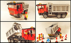 Merstudes 6x6 Heavy-Duty Tipper