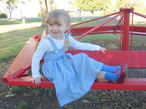 Sitting Dorothy