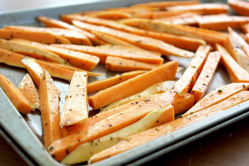 seasoned sweet potatoes