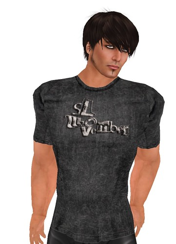 Black  MoMoSL T-Shirt Group Gift