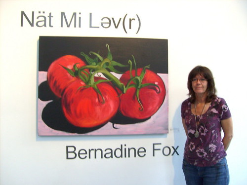 Bernadine Fox Mends Broken-Heart at Inter-Urban Gallery - Heart of The City Festival 2010