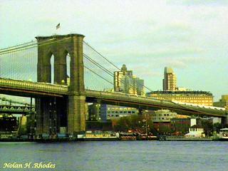 A View Of Brooklyn Bridge