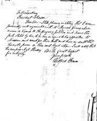 Azariah Graves (1815-1896) Civil War Pardon Petition #2