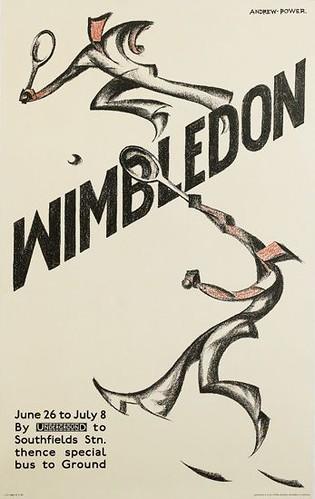 Wimbledon, 1933; [estimate:  $4,000 - $6,000]