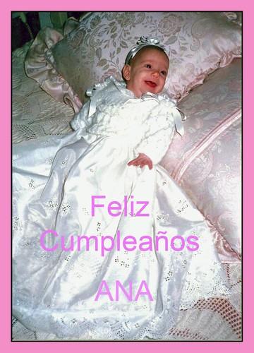 Cumpleaños de Ana