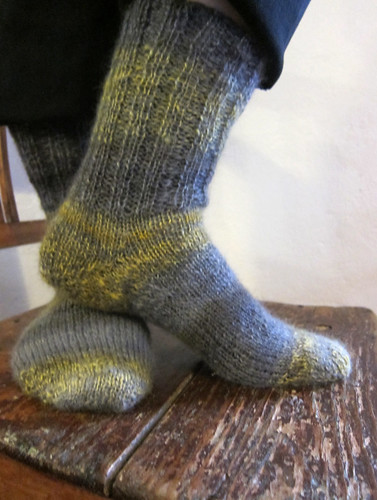 Handspun socks